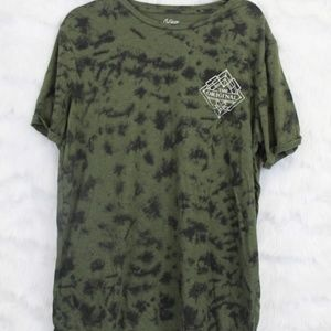 Green & Black Camouflage T-Shirt